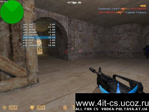 Чит m1dge Public Aeq/voiplay Cheat для CS 1.6