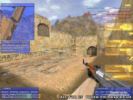 Best 4it for cs 1.6